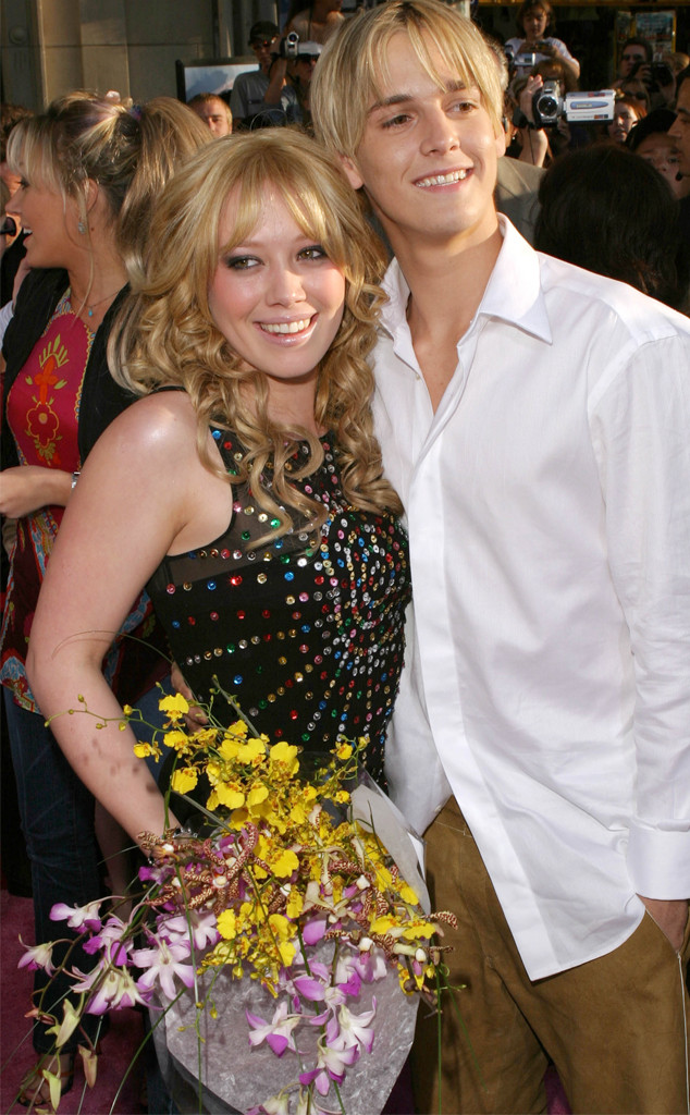 Hilary Duff, Aaron Carter