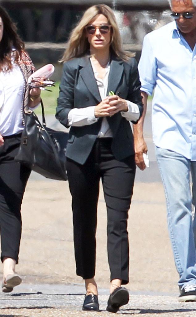Sandra Bullock, Blonde Hair