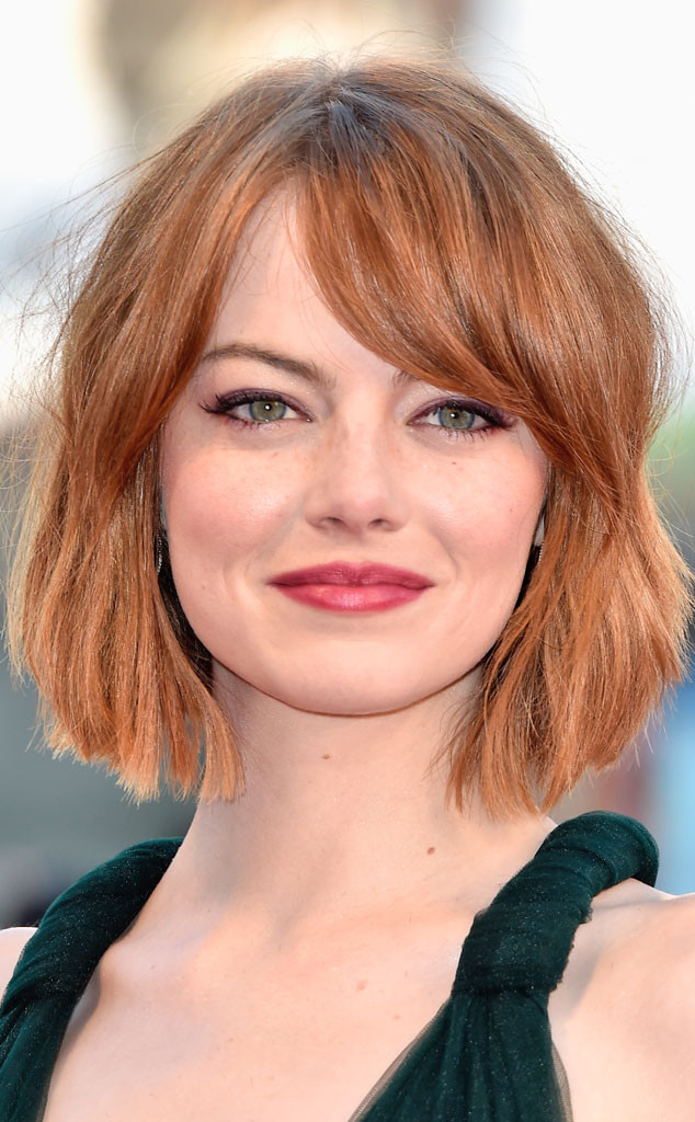 Emma Stone, Fall Hair