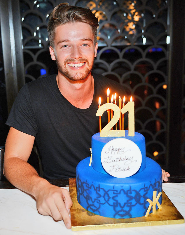 Magnificent Patrick Schwarzenegger Celebrates 21St B Day In Vegas With Dad Personalised Birthday Cards Petedlily Jamesorg