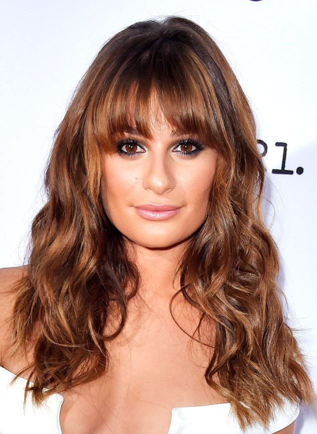 lea michele from fall 2014 hair color inspiration e news