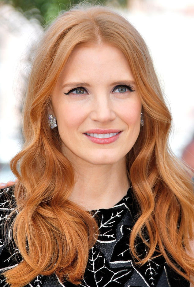 Jessica Chastain From Fall 2014 Hair Color Inspiration E News