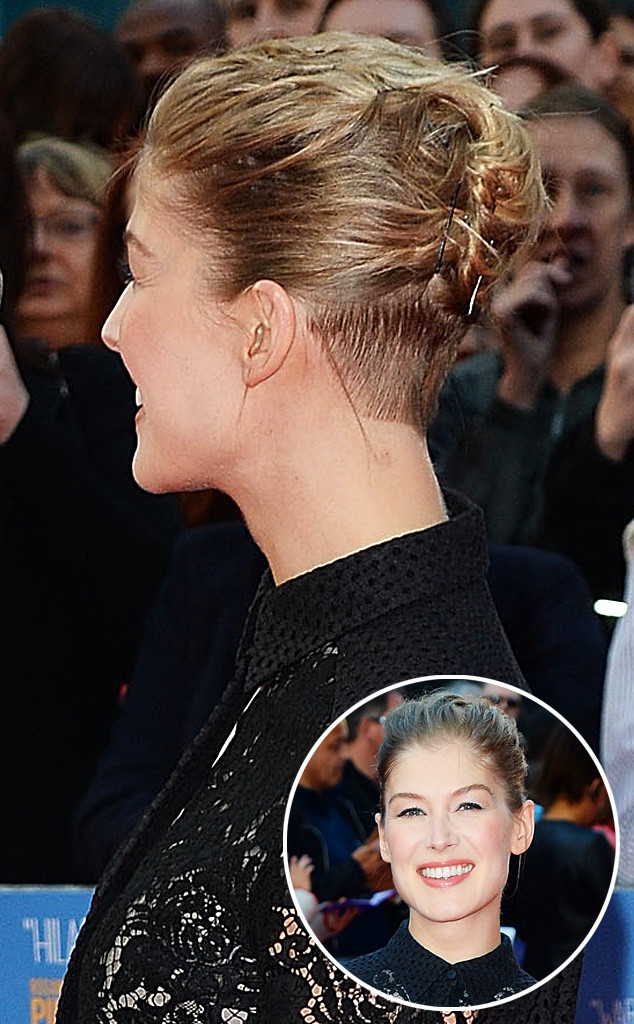 Rosamund Pike Hairstyle In Gone Girl