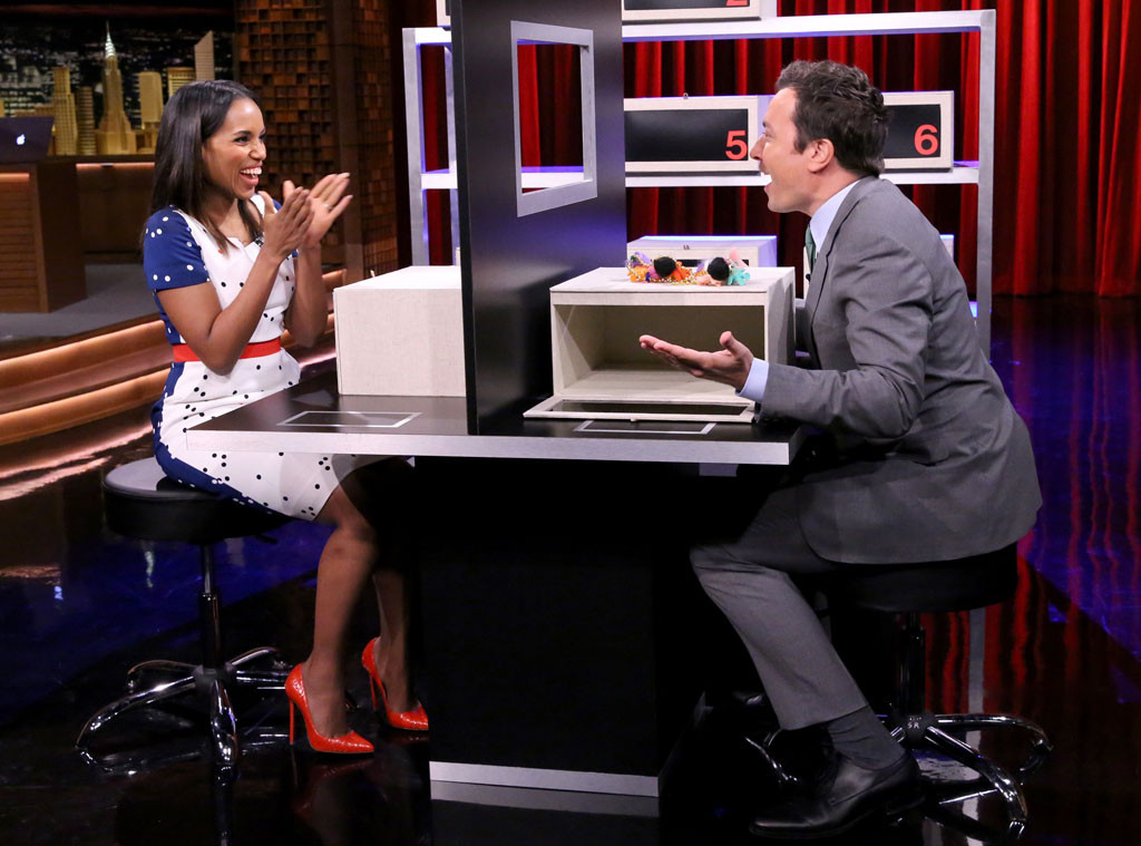 Kerry Washington, Jimmy Fallon, Tonight Show