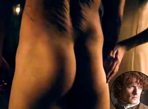 TV's best butts, Outlander, Sam Heughan