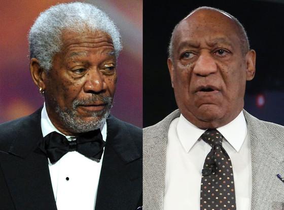Bill Cosby, Morgan Freeman