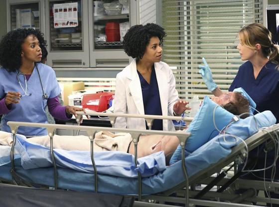 Grey's Anatomy, Kelly McCreary, Ellen Pompeo