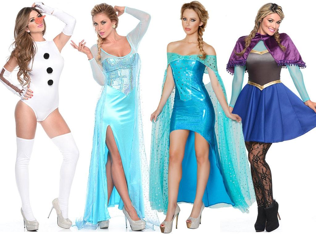 Frozen, Sexy Disney Halloween Costumes