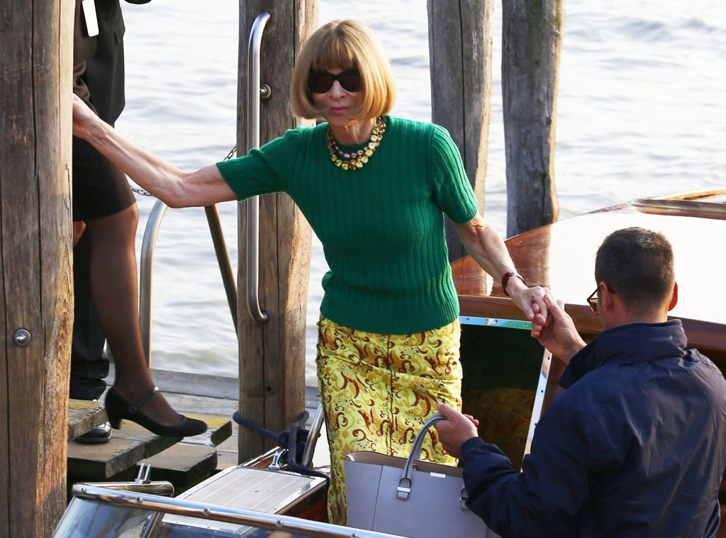 Anna Wintour, Clooney Wedding Guests