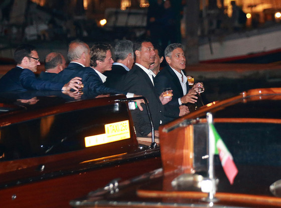 George Clooney, Clooney Wedding