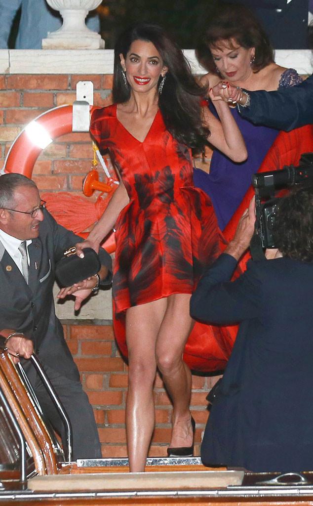 Amal Alamuddin, Clooney Wedding