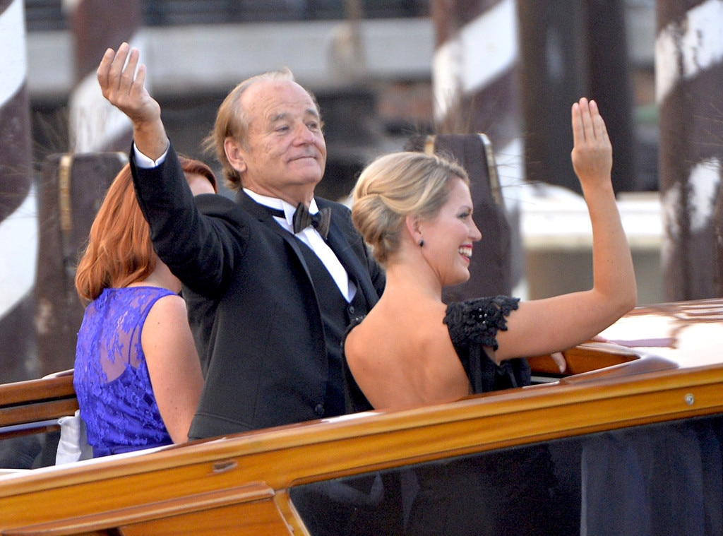 Bill Murray, Clooney Wedding