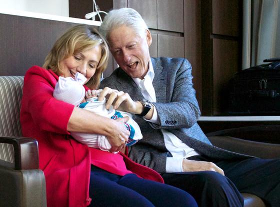Hillary Clinton, Bill Clinton, Chelsea Clinton, Charlotte Clinton Mezvinsky
