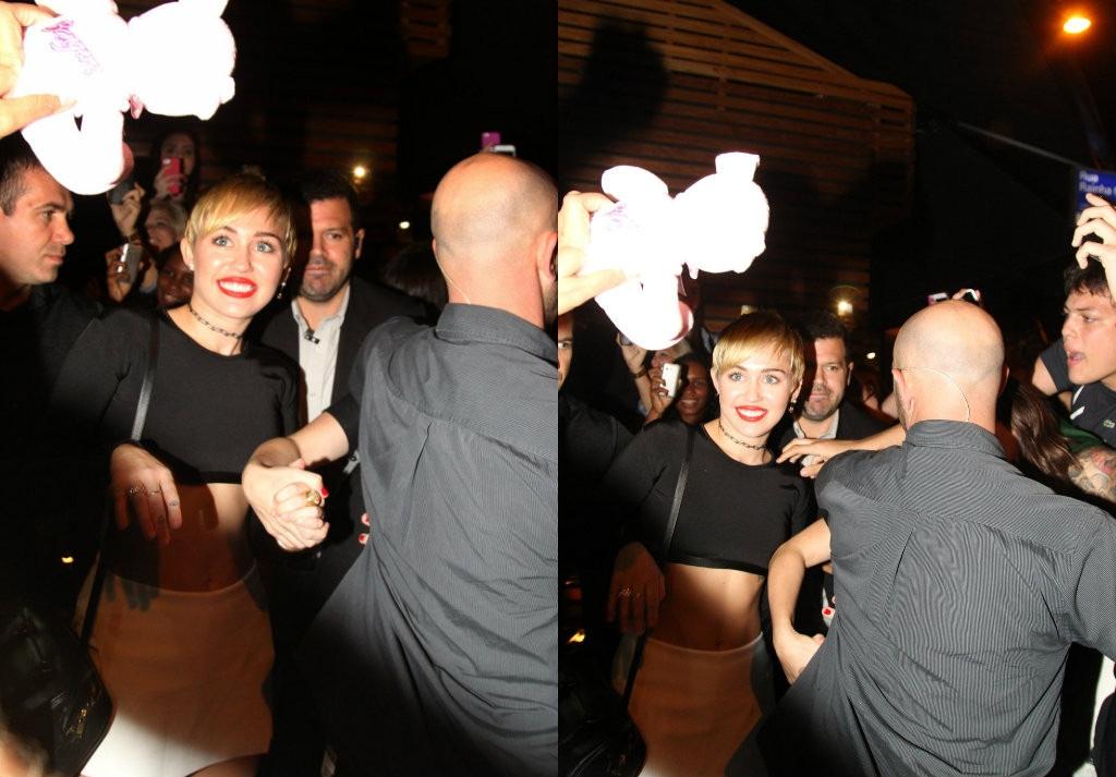 Miley Cyrus no Sushi Leblon