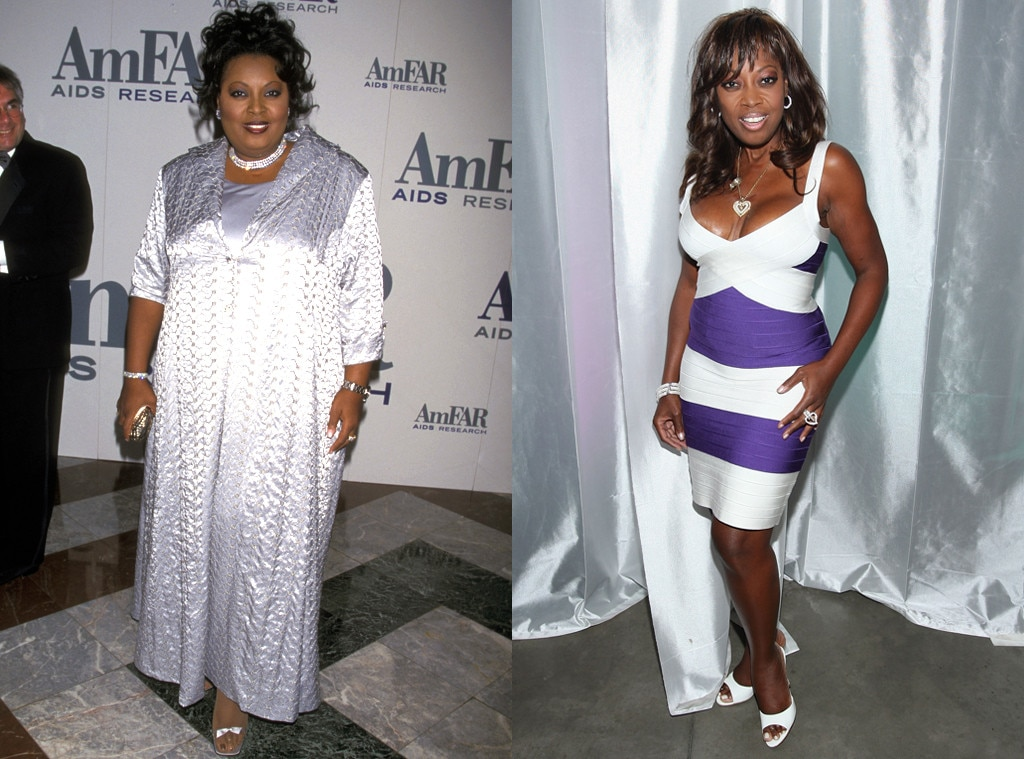 Star Jones From Before And After Celebs Who Have Admitted To Weight
