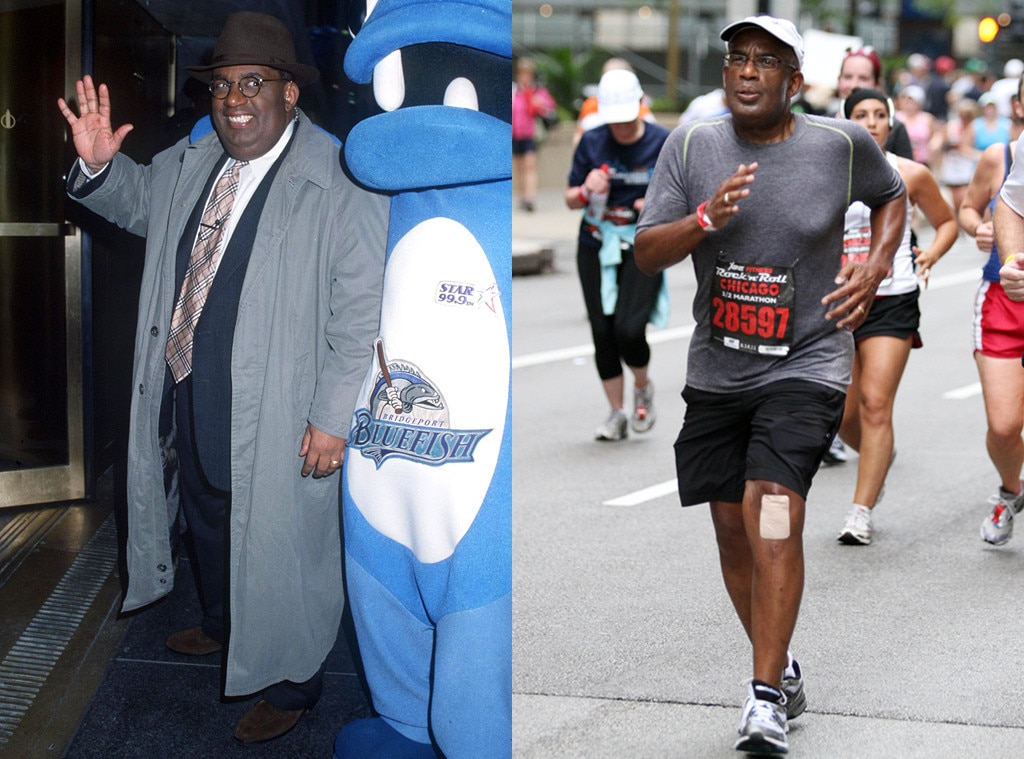 Al Roker From Before And After Celebs Who Have Admitted To Weight
