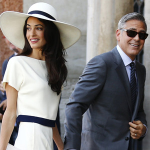 George Clooney and Amal Alamuddin's Honeymoon Continues: Are They Having a Staycation?