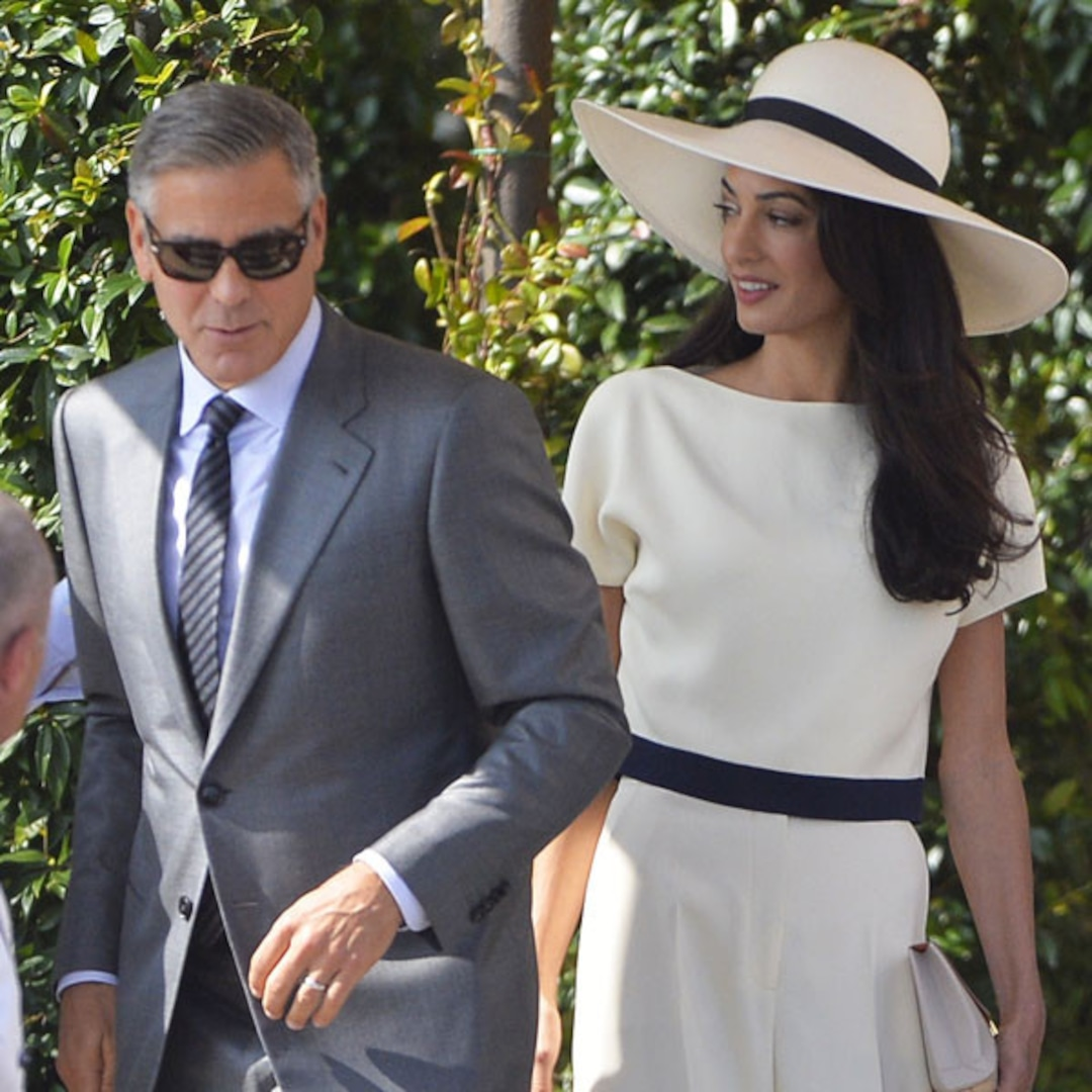 George Clooney And Amal Alamuddin Legally Married After Civil Ceremony E Online