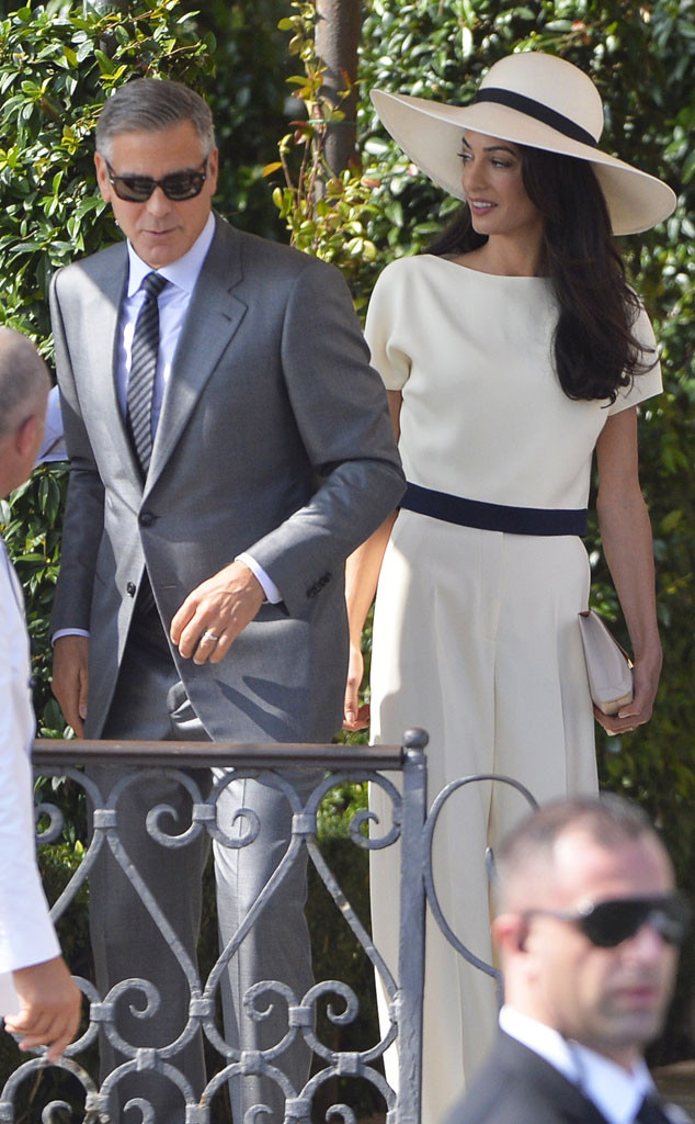 96a715acc54 George Clooney and Amal Alamuddin Are Legally Married After Civil Ceremony