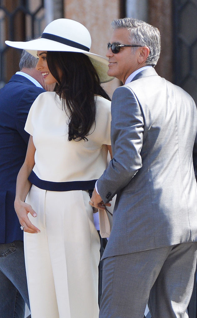 50c88822443 George Clooney and Amal Alamuddin Are Legally Married After Civil ...