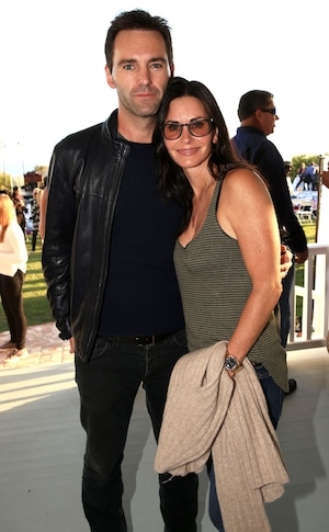 Johnny McDaid, Courteney Cox, Rock4EB
