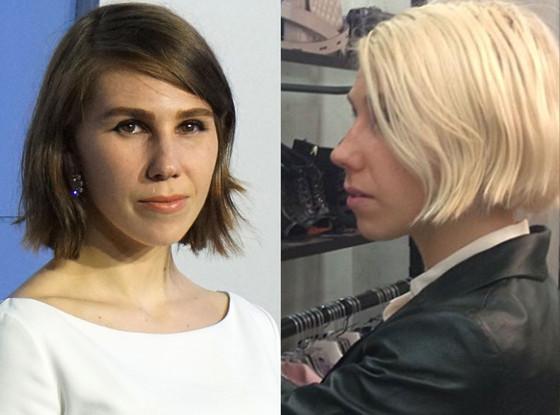 Zosia Mamet, Hair
