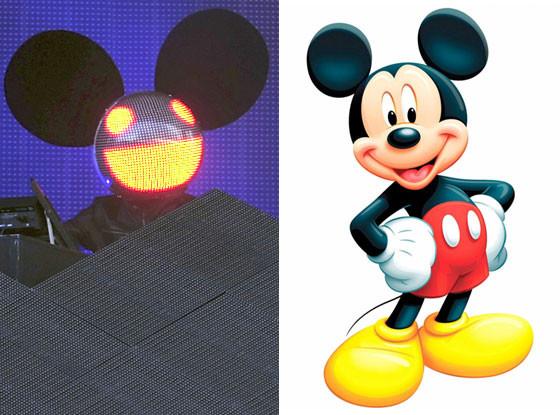 DeadMau5, Mickey Mouse