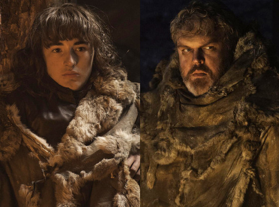 Isaac Hempstead-Wright, Kristian Nairn, Game of Thrones