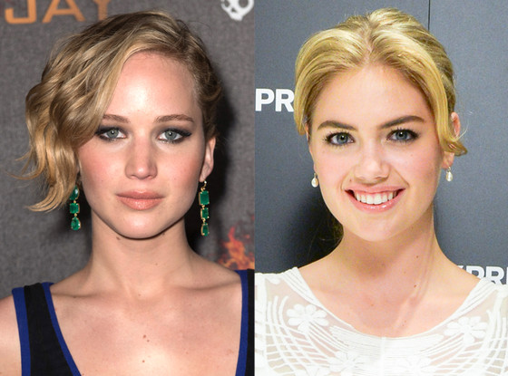 Jennifer Lawrence, Kate Upton