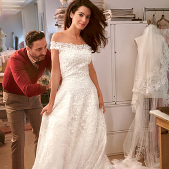 See Amal Alamuddin\'s Wedding Dress Fitting—Plus, Check Out Her ...