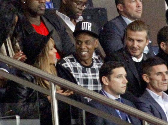 Beyonce, Jay-Z, David Beckham