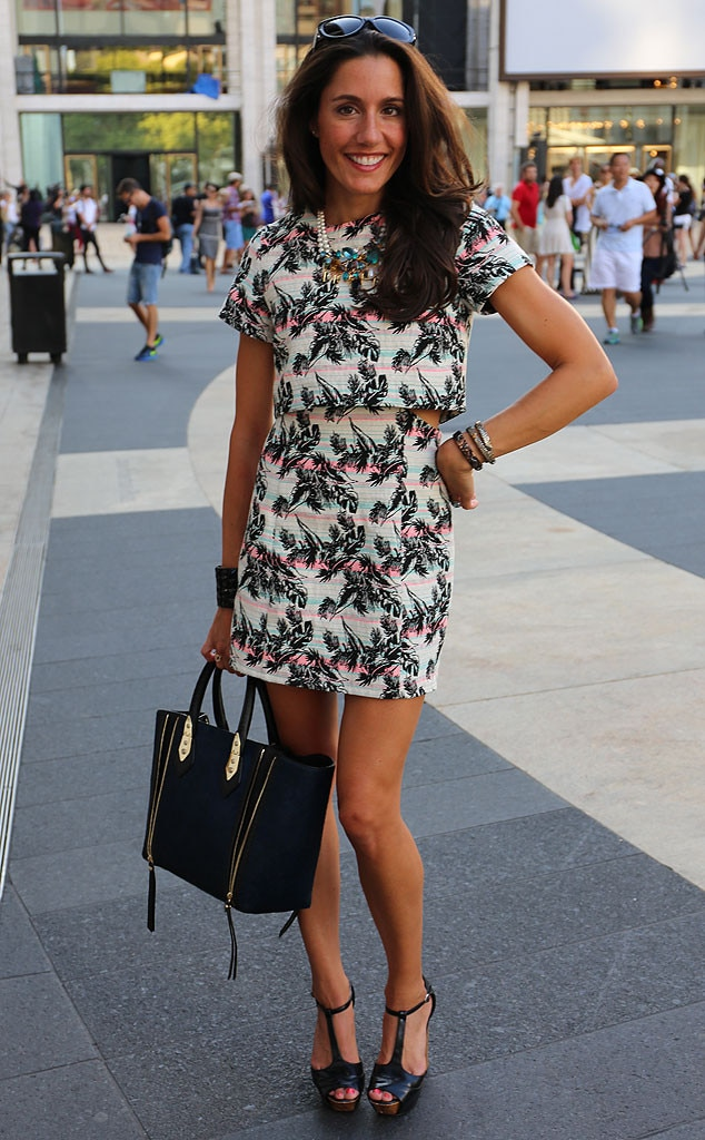 Christine Bibbo From New York Fashion Week Spring 2015 Street Style E News