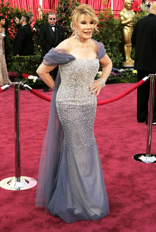 Pretty In Periwinkle From Joan Rivers Red Carpet Style