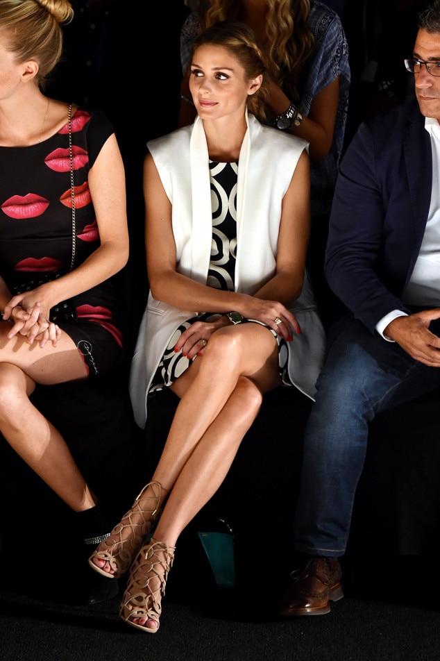Olivia Palermo From Stars Auf Der New Yorker Fashion Week