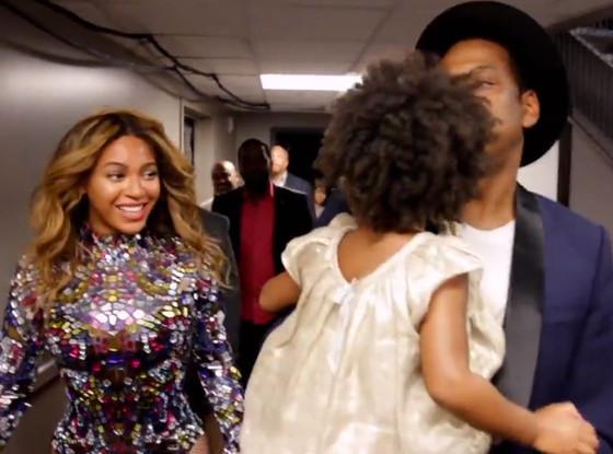 Beyonce, Blue Ivy, Jay-Z, Facebook