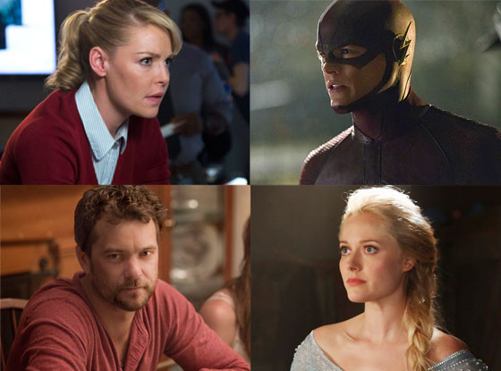 Once Upon a Time, State of Affairs, The Flash, The Affair