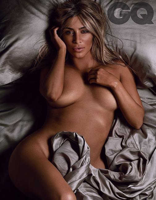 Kim Kardashian, British GQ