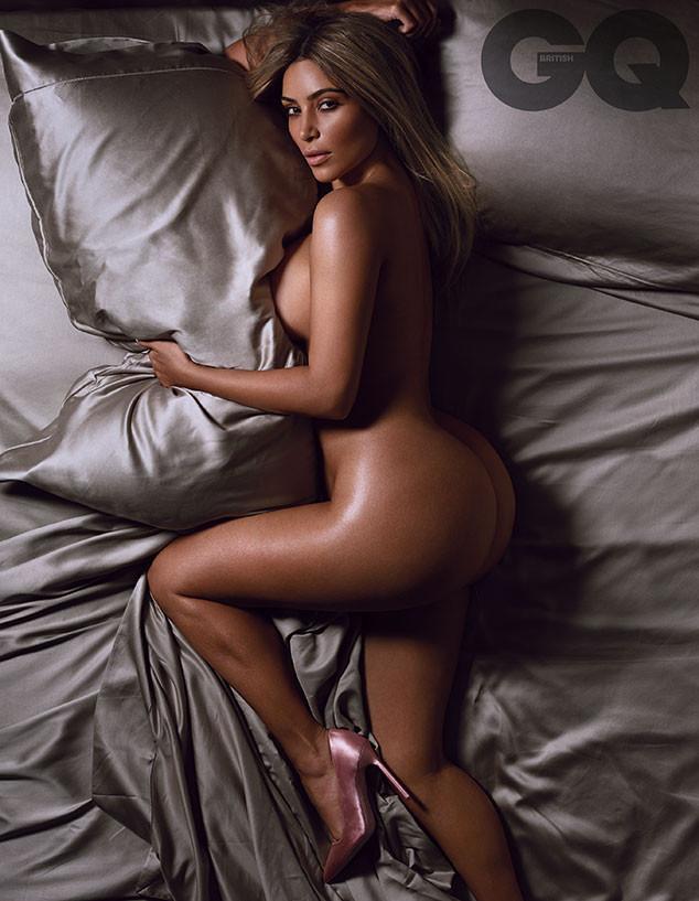 Kim Kardashian British Gq