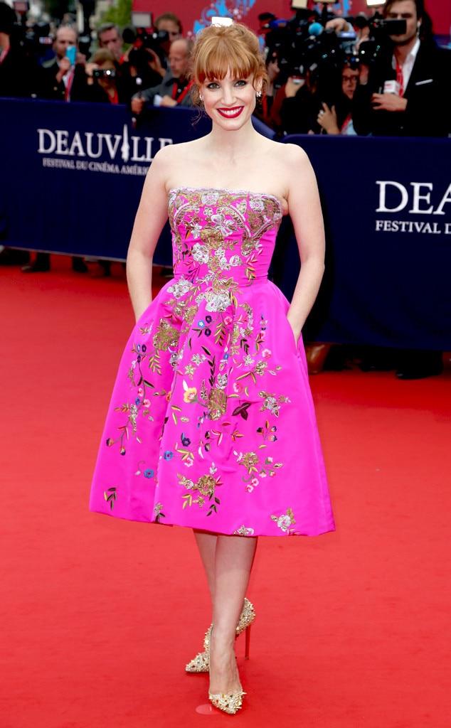 Jessica Chastain, Oscar de la Renta