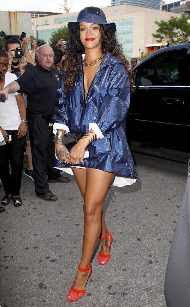 Rihanna, New York Fashion Week