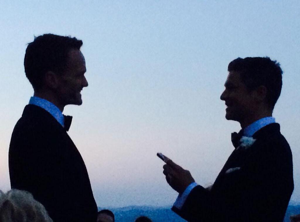 Neil Patrick Harris, David Burtka, Wedding