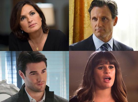 Glee, Revenge, SVU, Scandal