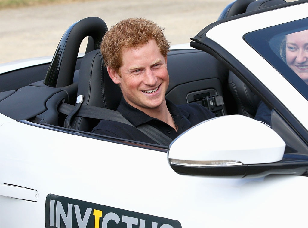 Prince Harry, Cars