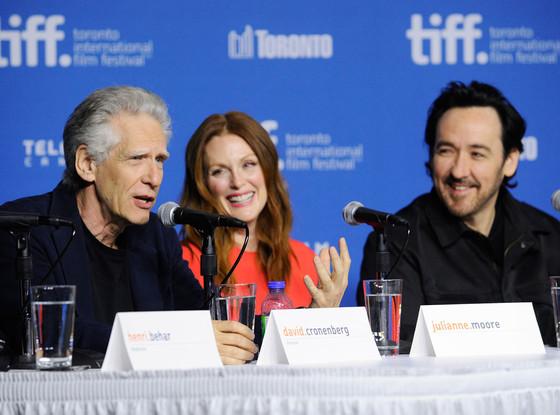 David Cronenberg, Julianne Moore, John Cusack