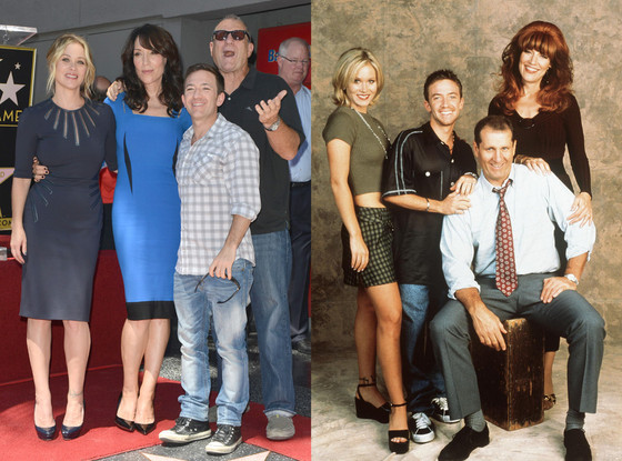 Katey Sagal, Christina Applegate, David Faustino, Ed O'Neill, Married with Children