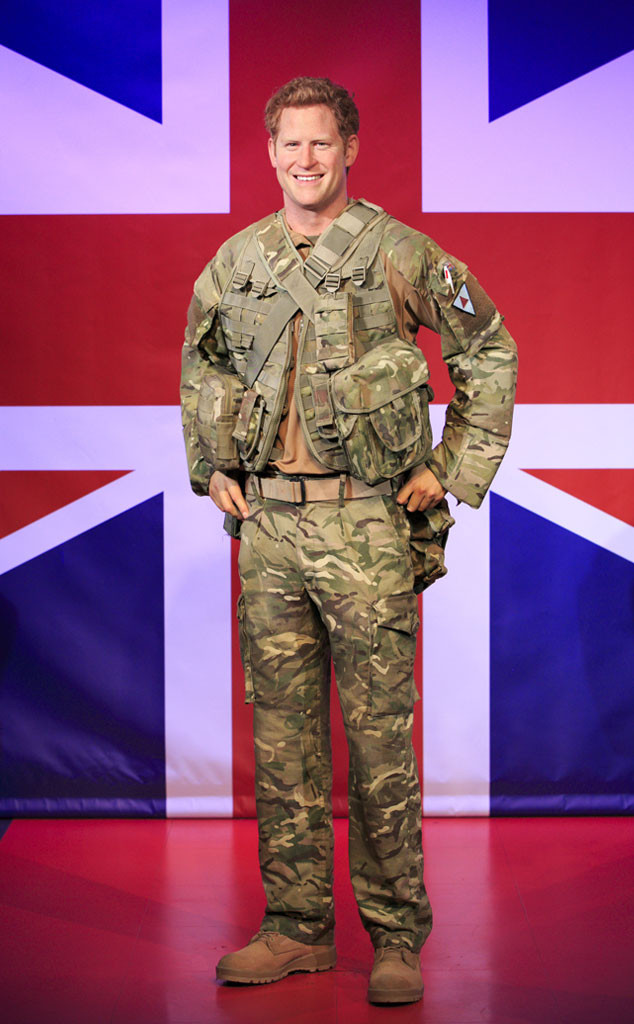 Prince Harry, Wax Figure