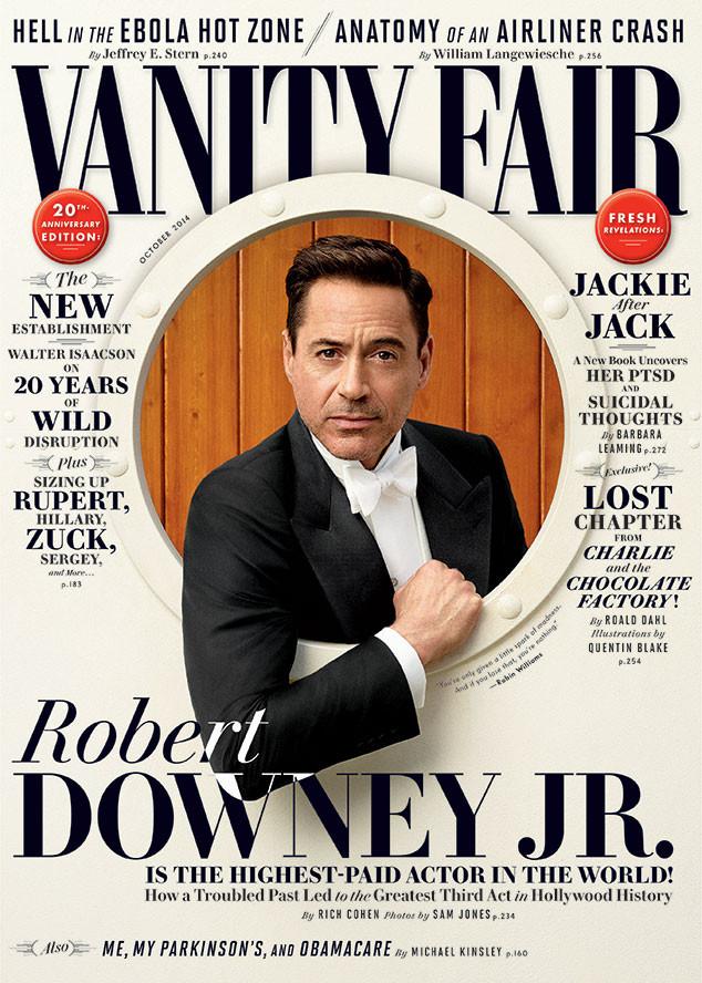 ROBERT DOWNEY JR., Vanity Fair