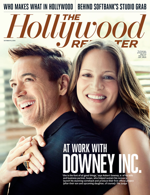 Robert Downey Jr., Susan Downey, The Hollywood Reporter