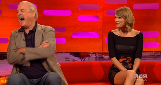 Taylor Swift, John Cleese, The Graham Norton Show