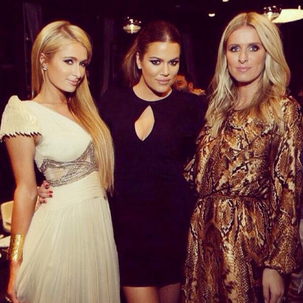 Khloe Kardashian, Paris Hilton, Nicky Hilton